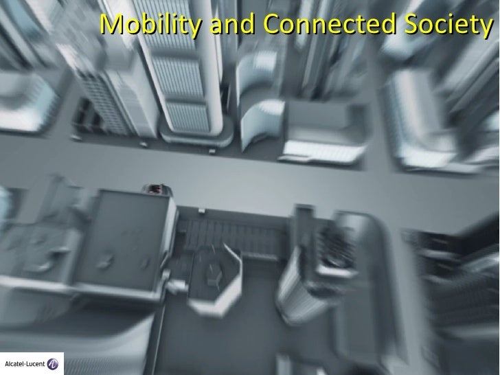 Mobility and connected society