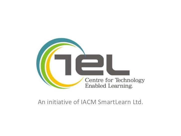An initiative of IACM SmartLearn Ltd.