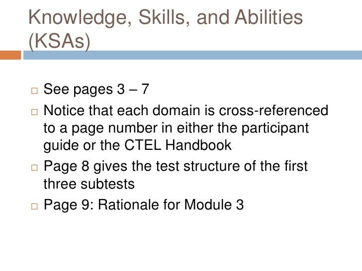 ctel 3 essay