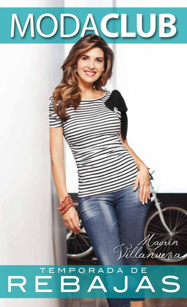 G) Temporada de ofertas modaclub 2013 rebajas catalogo
