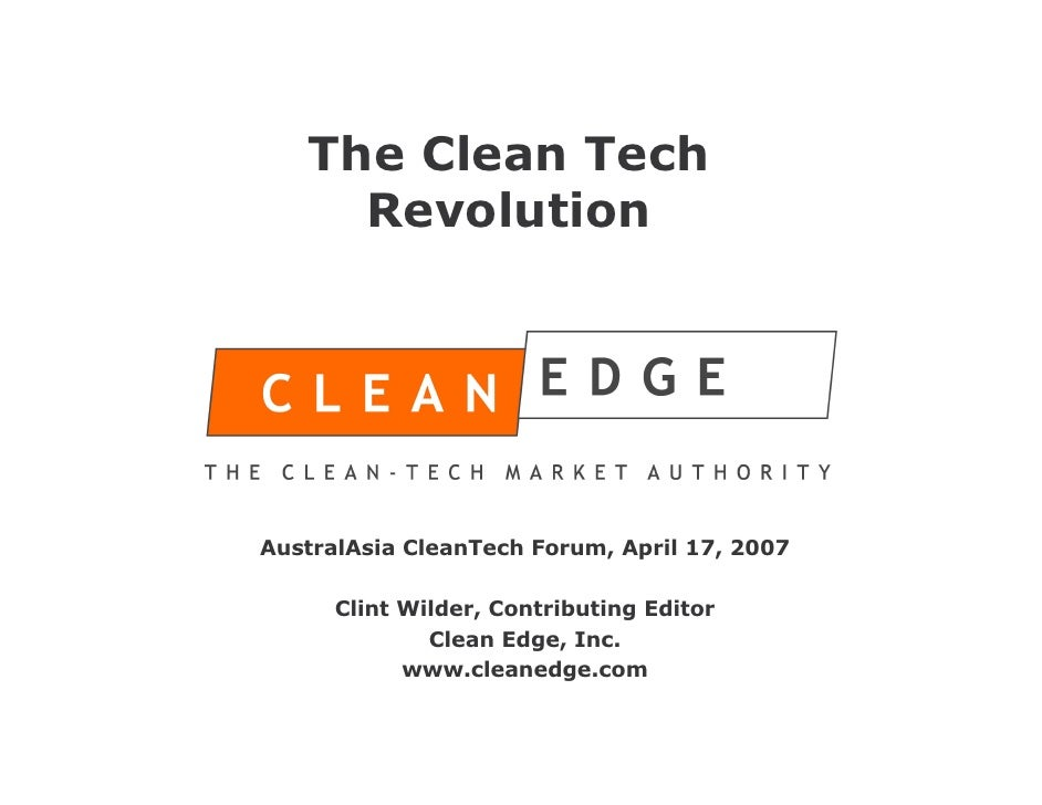 what is clean technology