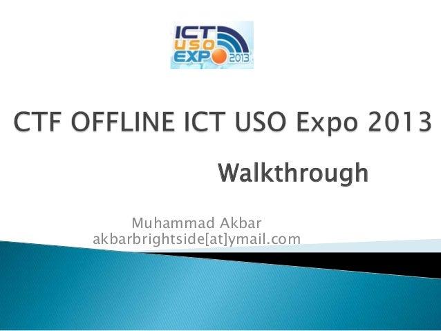 Ctf ict uso expo 2013