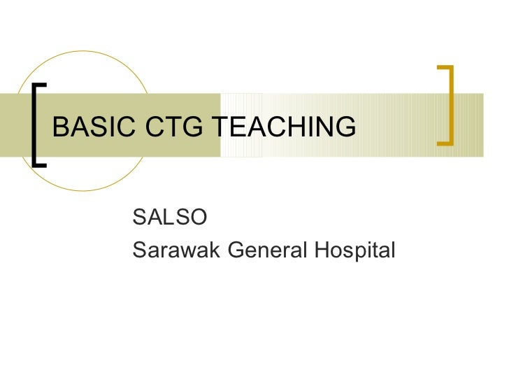 Cardiotocography (CTG)