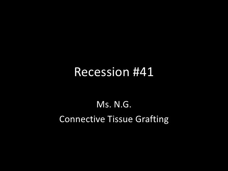 Recession #41        Ms. N.G.Connective Tissue Grafting