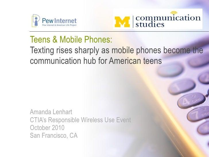 Teens & Mobile Phones