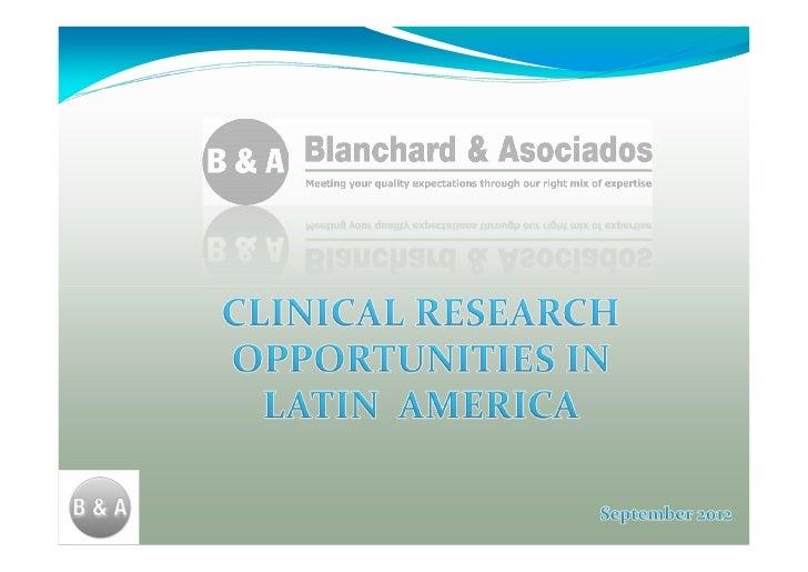 Ct In Latin America SEP 2012
