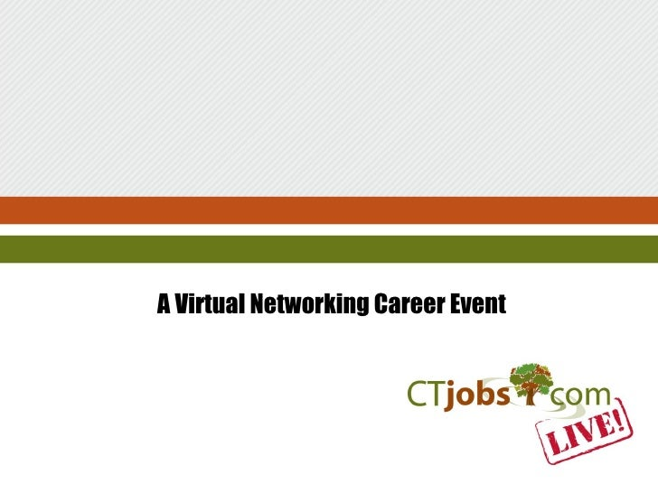 A Virtual Networking Career Event