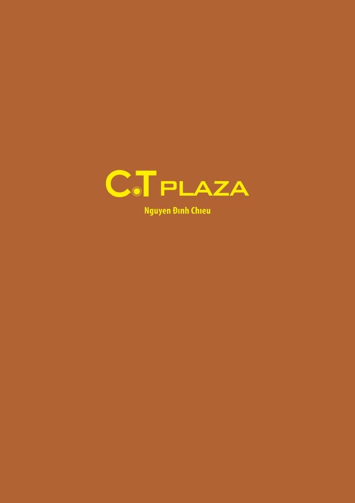 Thiet ke Brochure - CT.Plaza