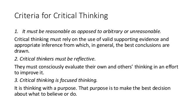 critical thinking fallacies exercises