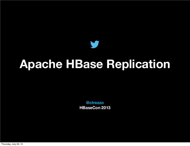 HBase Replication