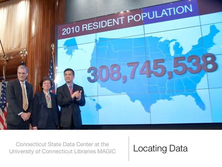Finding Data from the US Census