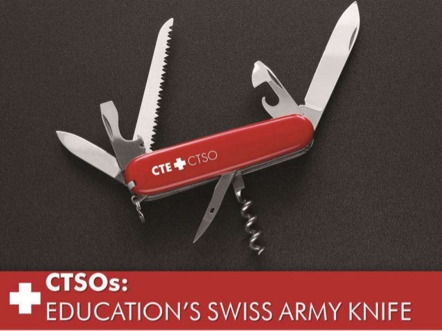 CTSOs - The Swiss Army Knife of Education