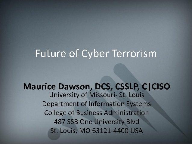 Future of Cyber Terrorism