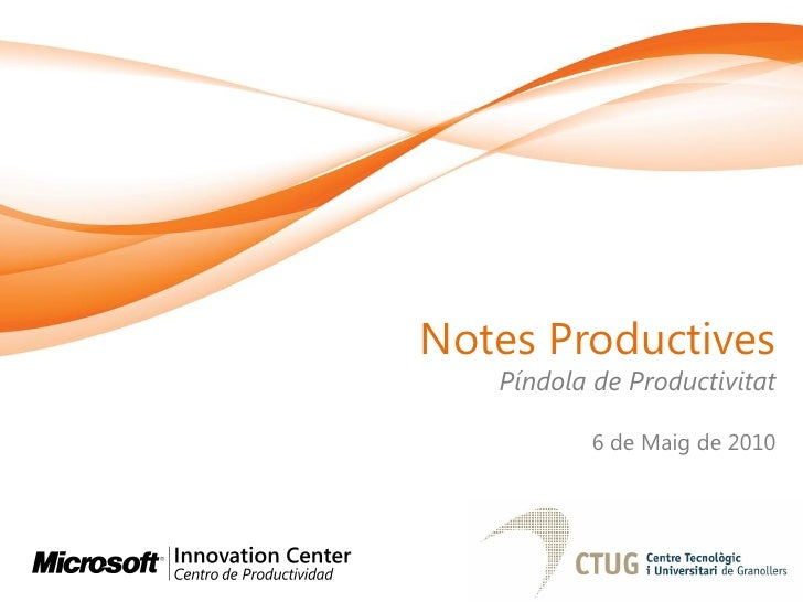 Prendre notes productives