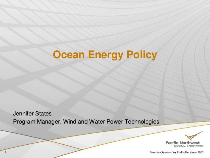 Ctws ocean energy states