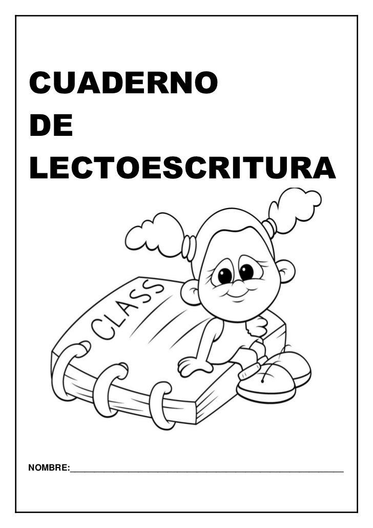 lectoescritura pdf: