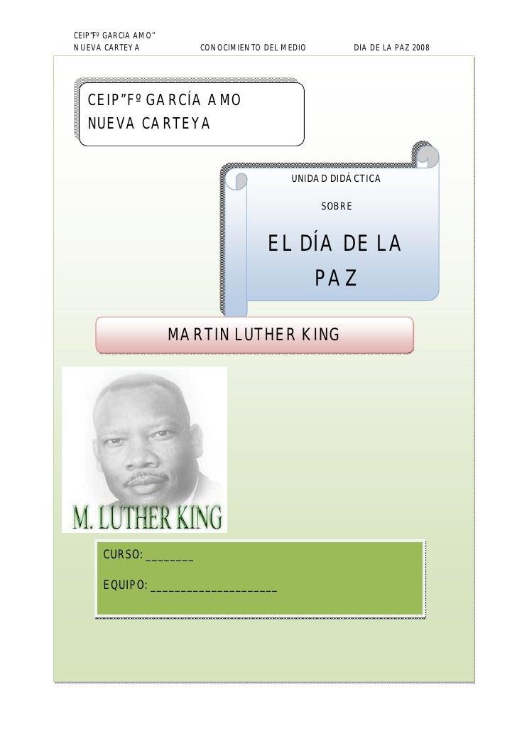 Cuaderno Alumnos Martin Luther King