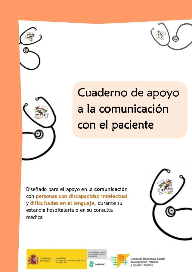 Comunicación con el paciente con discapacidad intelectual. Cuaderno de apoyo.