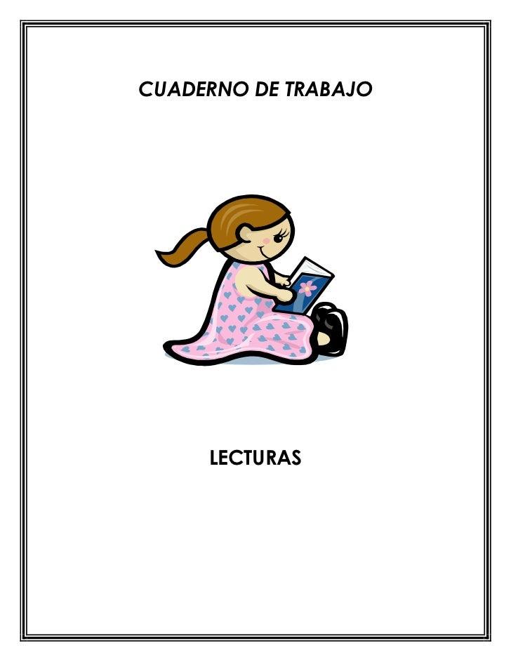 Cuaderno de comprension  lectora primero