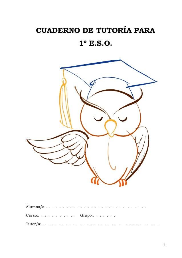 Cuaderno de tutoría 1º eso