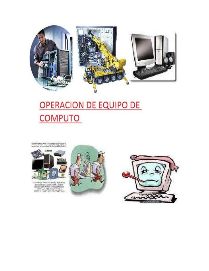 CENTRO DE ESTUDIOS TECNOLOGICOS INDUSTRIAL Y DE SERVICIOS No 109<br />NOMBRE DE LA MATERIA:     OPERACIÓN DEL EQUIPO DE CÓ...