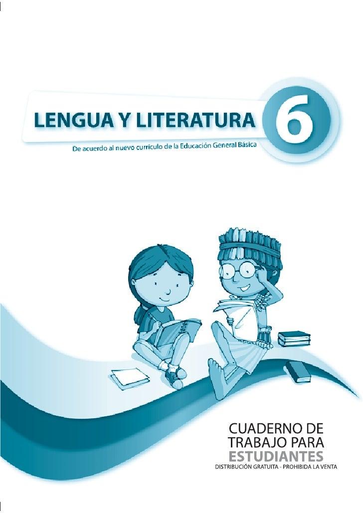 Cuaderno lengua sexto_ano