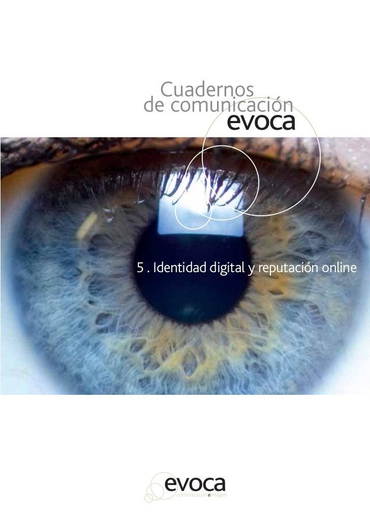 Evoca. Número 5. Identidad digital y reputación online