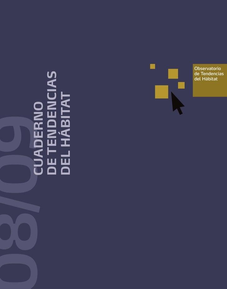 Cuaderno Tendencias Hábitat 08-09