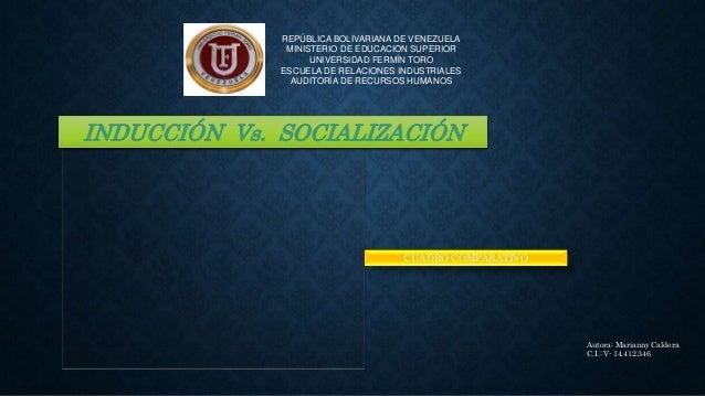 REPÚBLICA BOLIVARIANA DE VENEZUELA MINISTERIO DE EDUCACION SUPERIOR UNIVERSIDAD FERMÍN TORO ESCUELA DE RELACIONES INDUSTRI...