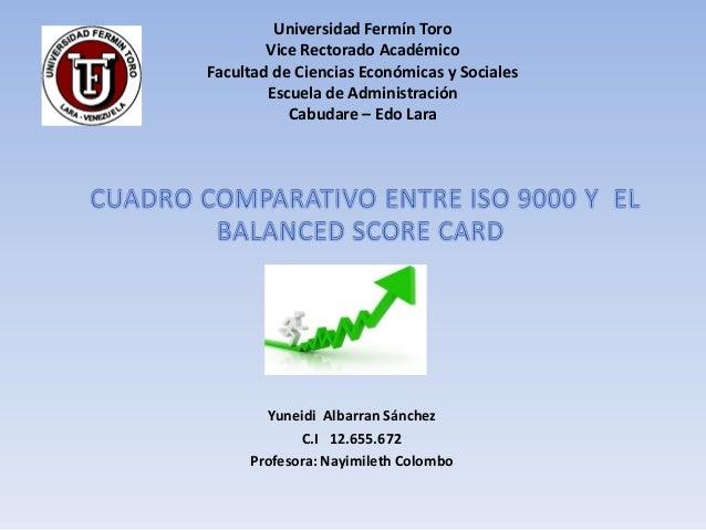 Universidad Fermín Toro        Vice Rectorado AcadémicoFacultad de Ciencias Económicas y Sociales        Escuela de Admini...