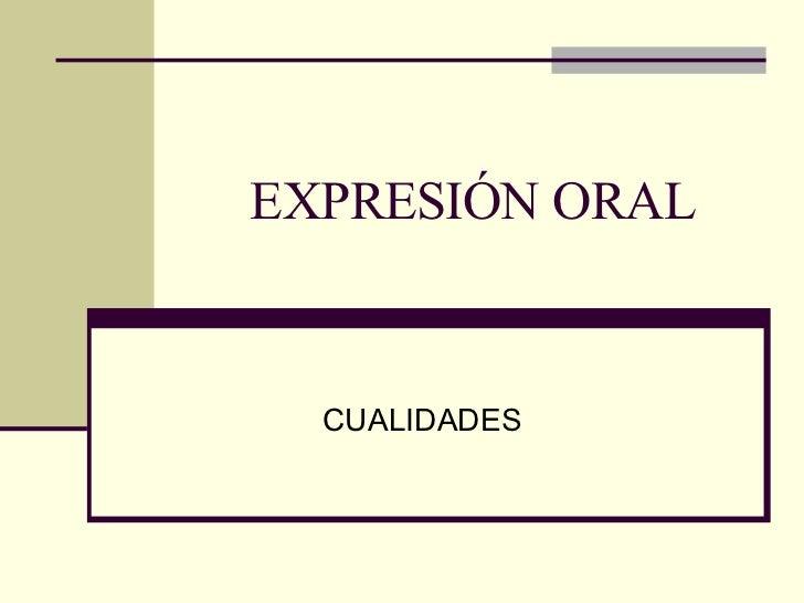 defectos de la lectura oral: