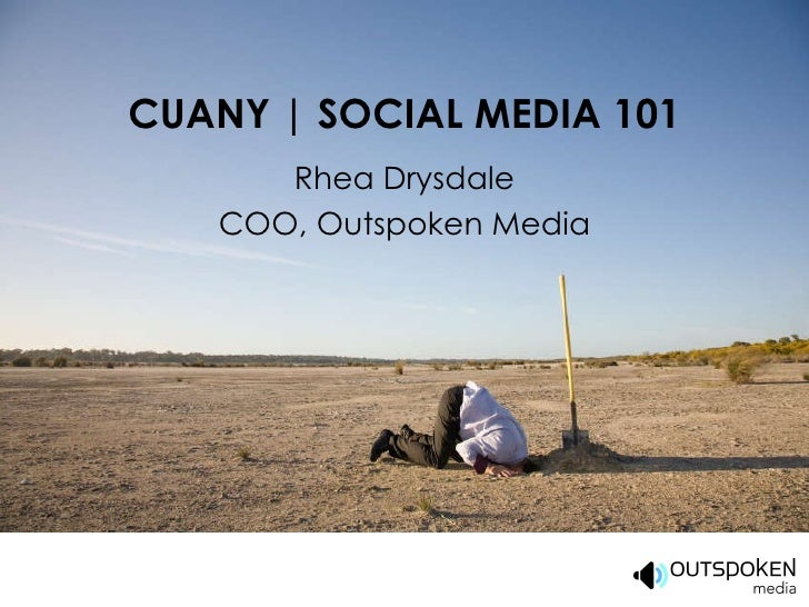 CUANY 2010 | Social Media 101 for Credit Unions