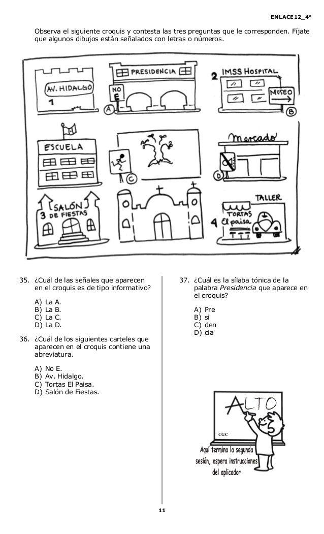 Cuarto primaria enlace 2012 for Cuarto primaria
