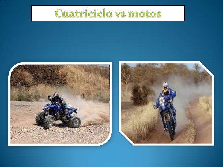 CuatriciclosHace más de treinta años, los distribuidores de motocicletas; cansados de experimentar cómodejaban de vender s...