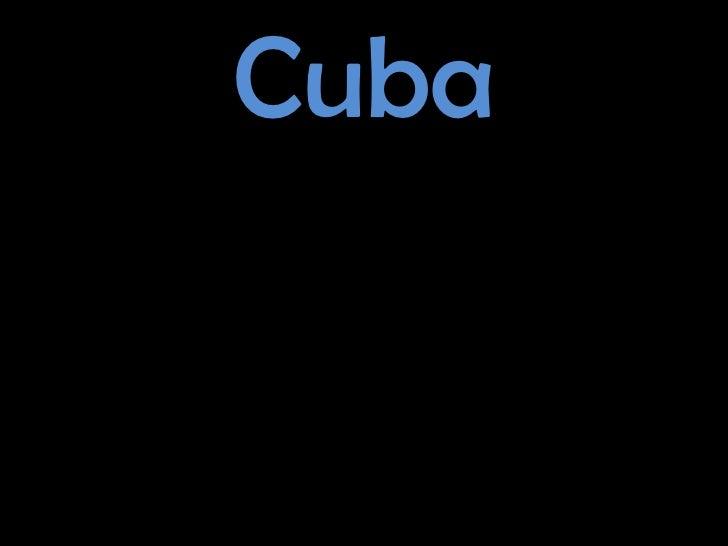 Cuba<br />