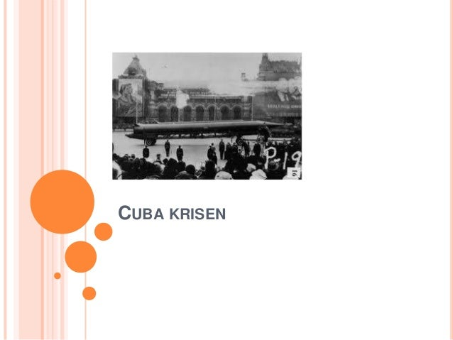 Cuba krisen