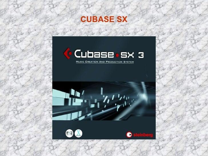 CUBASE SX