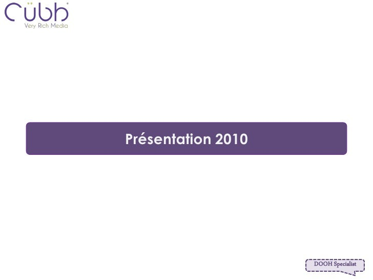 Cubb Presentation 2010