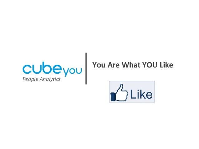Cubeyou Social Analytics Presentation 06182013
