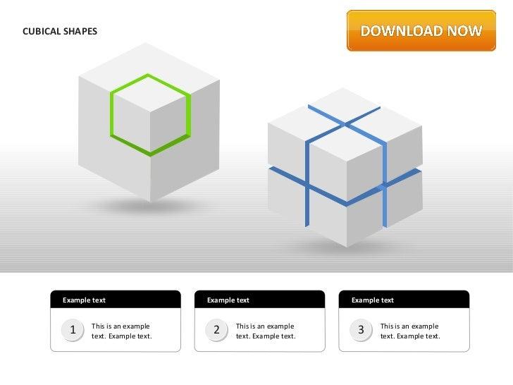 Cubical Shapes by Slideshop
