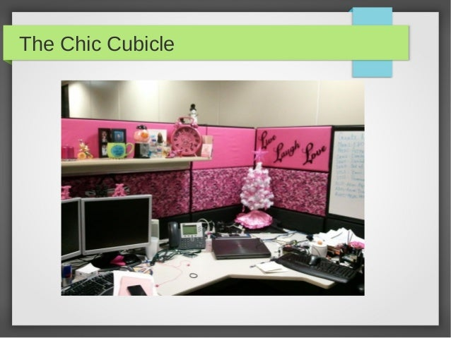 the chic cubicle chic office decor
