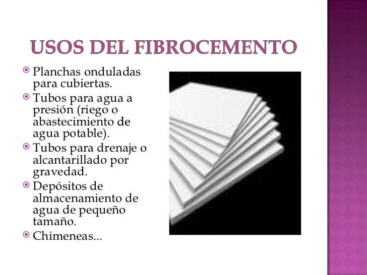 Cubiertas de fibrocemento - Placas de fibrocemento ...