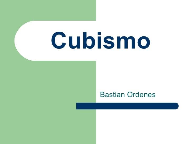 Cubismo   Bastian Ordenes