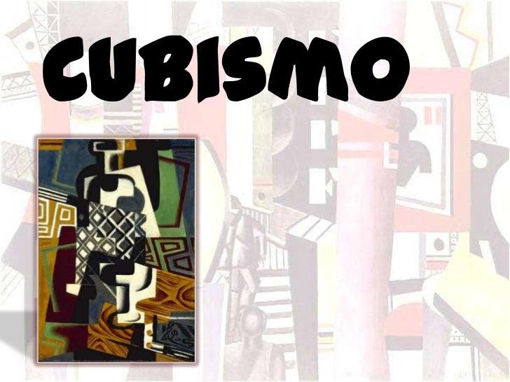 Vanguardia: Cubismo