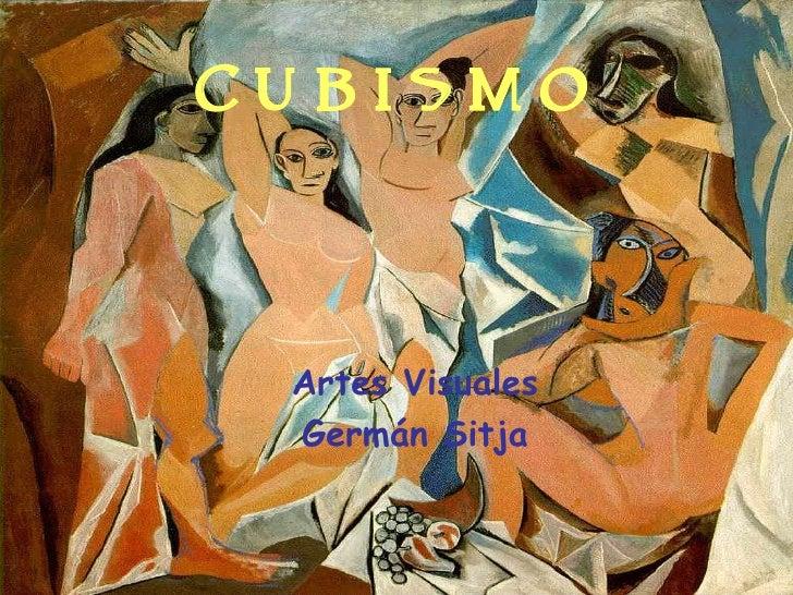 Cubismo Artes Visuales Germán Sitja