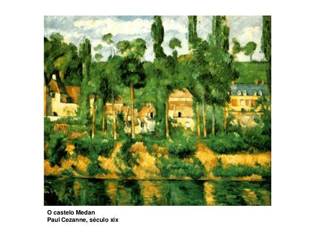 O castelo Medan Paul Cezanne, século xix