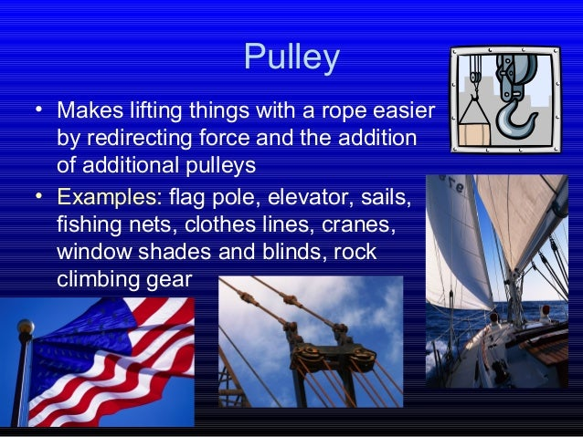 Pulleys And Gears Presentation : Cub simple lesson presentation