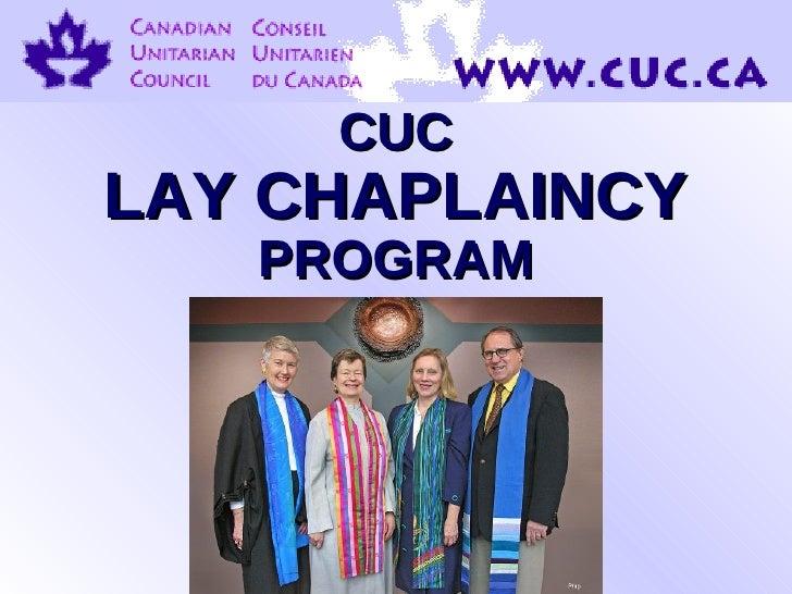 CUC Lay Chaplaincy Introduction