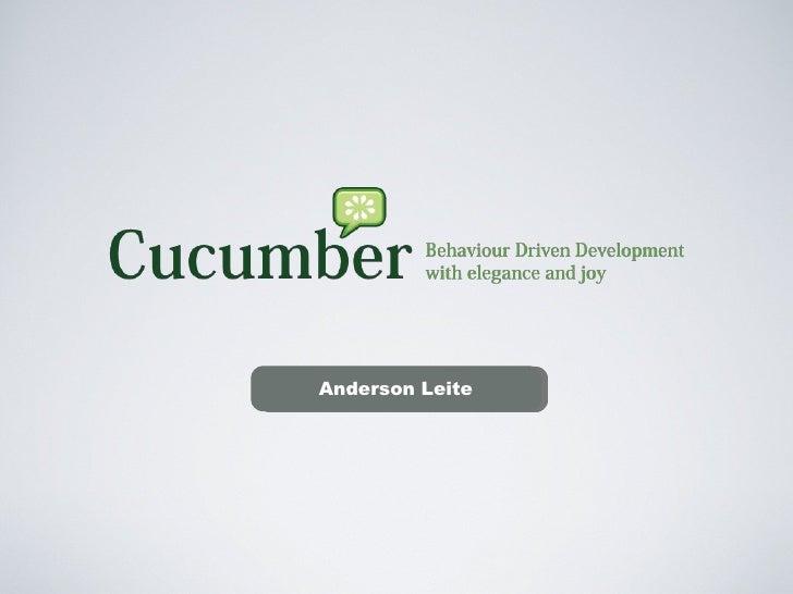 BDD & Cucumber