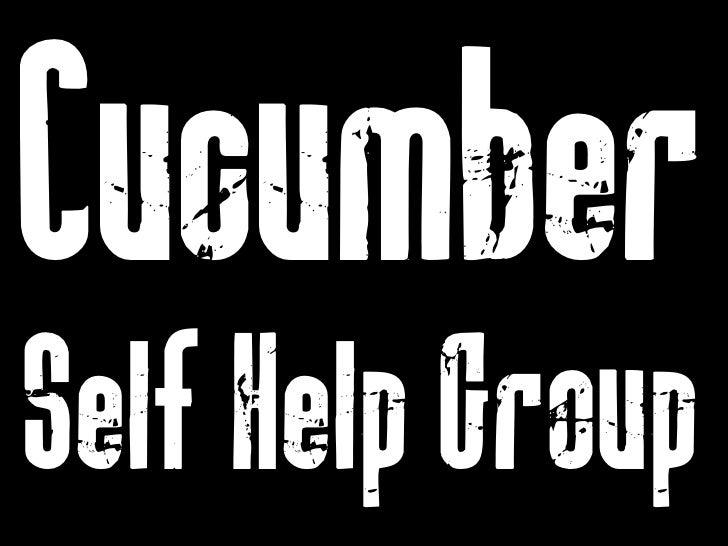 Cucumber  Self Help Group